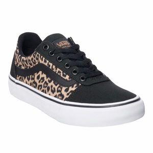 Vans Old Skool Cheetah Print Lace Up Sneaker Shoe
